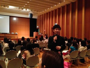 参加者との対話形式の楽しいセミナー