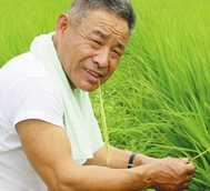 無農薬野菜栽培農家訪問 吉田稔さん(富山県)