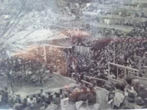昔は賑わった相撲座敷