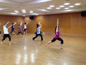 健康長寿セミナー(バレトン)体内筋を鍛え、カラダの柔軟性をupさせる運動です!