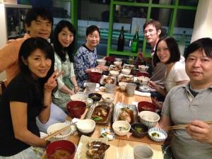 セミナー後の懇親会(きらぼし食堂)